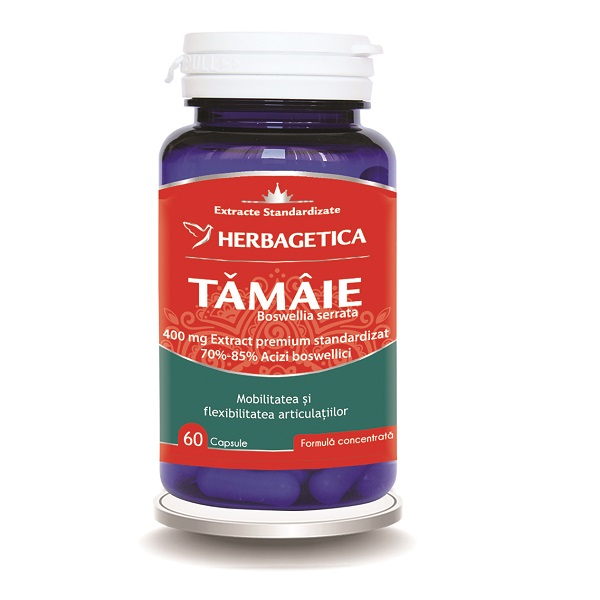Supliment alimentar, Tamaie - Boswellia serrata - 60 capsule [0]