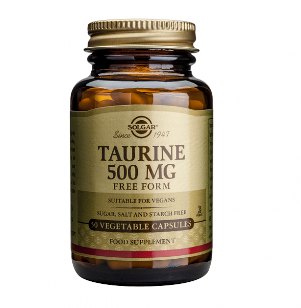 Supliment alimentar, Taurina, Solgar Taurine (500 mg) - 50 capsule [0]