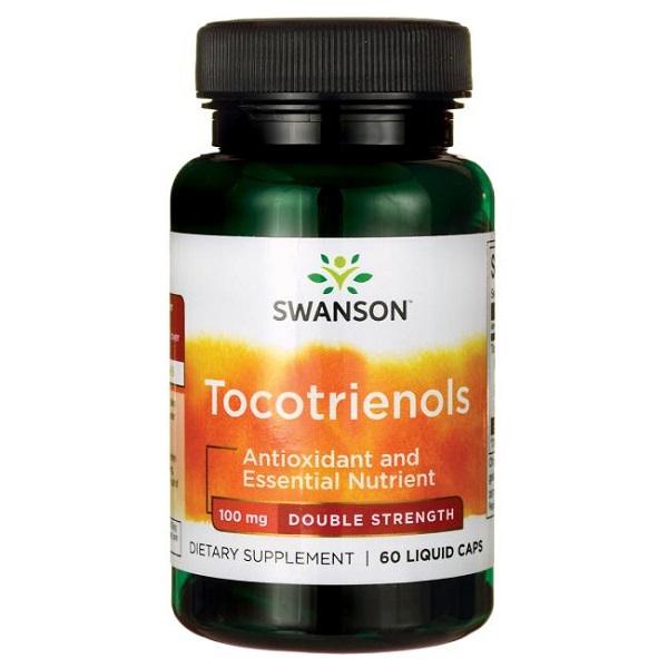 Supliment alimentar, Tocotrienoli (100 mg), Swanson Delta and Gamma Tocotrienols - 60 capsule (60 doze) [0]