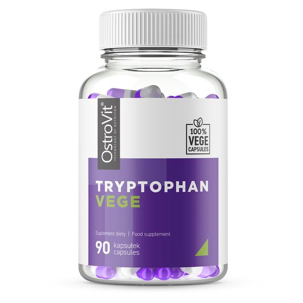 Supliment alimentar, Triptofan (300 mg), OstroVit Tryptophan Vege - 90 capsule (90 doze) [0]
