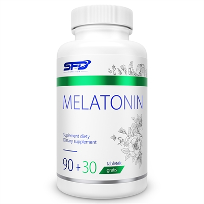 Supliment alimentar, Tulburari de Somn si Insomnii, SFD Melatonina (1 mg) - 120 comprimate (120 doze) [0]