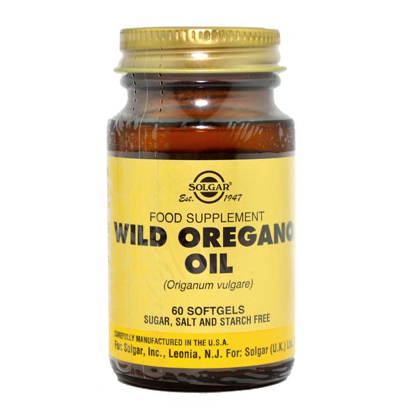 Supliment alimentar, Ulei de Oregano Salbatic, Wild Oregano Oil - 60 capsule [0]