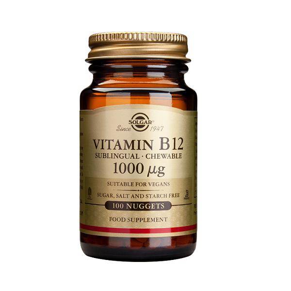 Supliment alimentar, Vitamina B12, Vitamin B12 (1000 g) - 100 tablete [0]