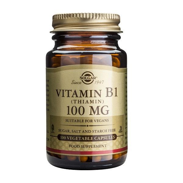 Supliment alimentar, Vitamina B1, Vitamin B1 (100 mg) - 100 capsule [0]