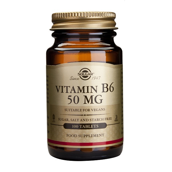 Supliment alimentar, Vitamina B6, Vitamin B6 (50 mg) - 100 capsule [0]