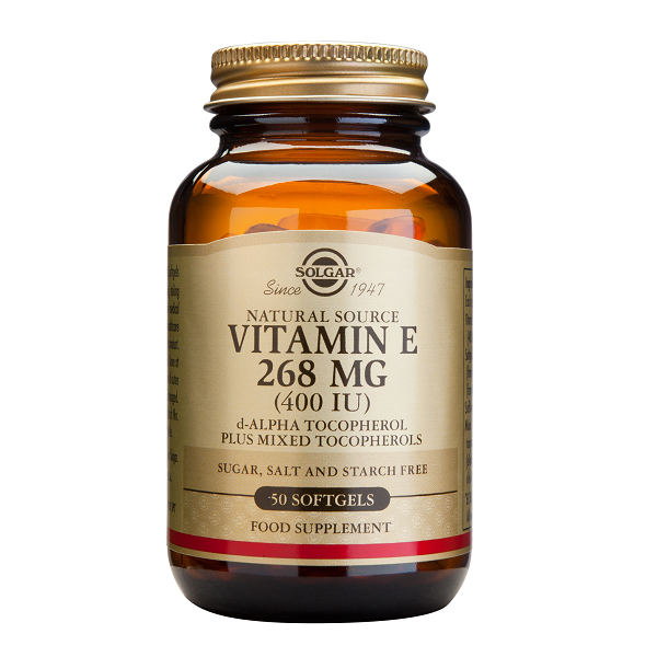 Supliment alimentar, Vitamina E, Solgar Vitamin E 268 mg (400 UI) - 50 capsule [0]