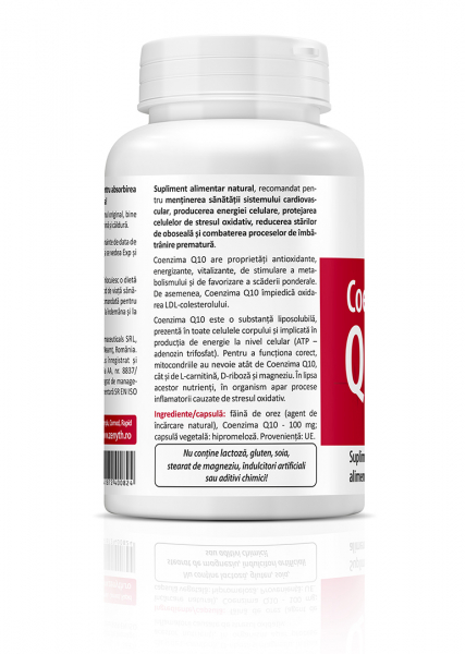 Supliment alimentar, Zenyth Coenzyme Q10 (100 mg) - 60 capsule [1]