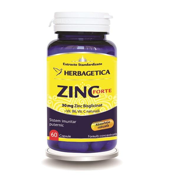 Supliment alimentar, Zinc Forte - 60 capsule [0]