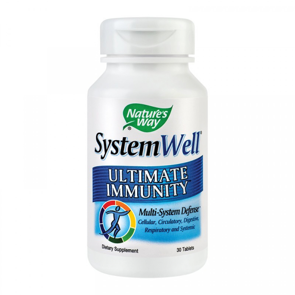 Supliment alimentar pentru Imunitate, SystemWell Ultimate Immunity - 30 comprimate [0]