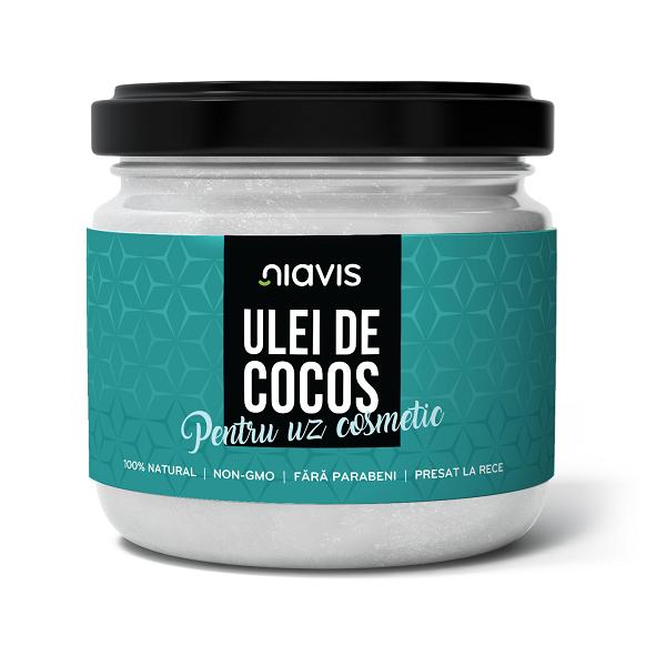 Ulei de Cocos pentru Uz Cosmetic - 200 g/220 ml [0]