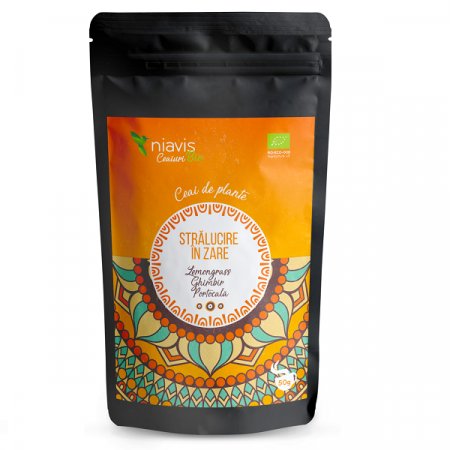 """Ceai Ecologic/BIO """"Stralucire in Zare"""" - 50 g"""