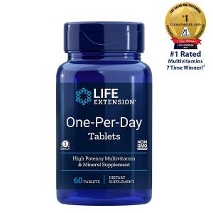 Complex de Multivitamine si Minerale, Life Extension One-Per-Day Tablets - 60 comprimate (60 doze) [1]