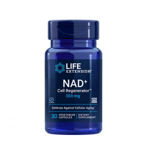 Complex pentru Metabolism si Regenerare Celulara, Life Extension NAD+ Cell Regenerator™ (300 mg) - 30 capsule (30 doze) [0]