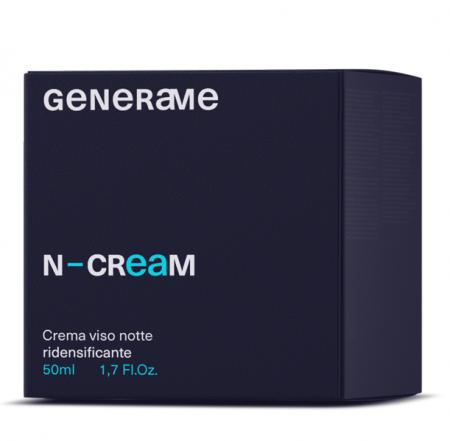Crema de Fata - Noapte, Regenerare Celulara, Efect Reparator, Redensificare Piele, Generame N-Cream1