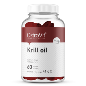 Supliment alimentar, OstroVit Krill Oil (1000 mg) - 60 capsule moi (30 doze) [0]