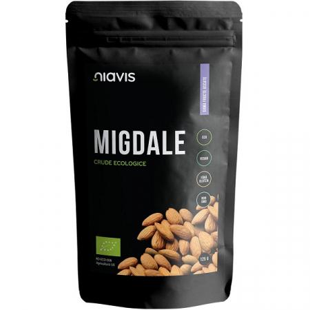 Migdale crude Ecologice/Bio - 125 g [0]