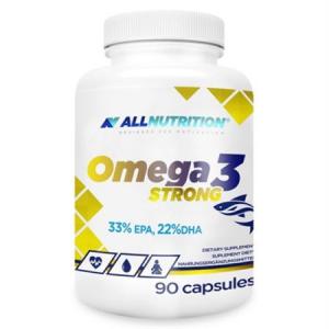 Omega 3 Strong, 1000 mg, EPA - 330 mg, DHA - 220 mg, Vitamina E - 12 mg, 90 capsule moi (90 doze)