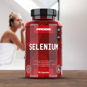 Seleniu, Prozis Selenium - Hair, Skin and Nails 90 caps [2]