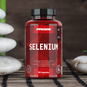 Seleniu, Prozis Selenium - Hair, Skin and Nails 90 caps [4]