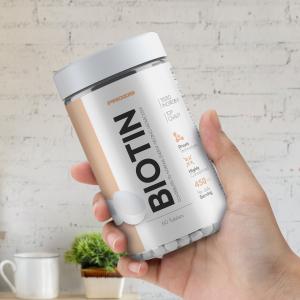 Biotina,Vitamina B7, Prozis Biotin 450 mcg, 60 tablete [2]