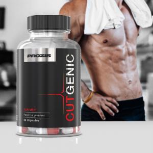 Supliment alimentar pentru arderea grasimilor, Prozis CutGenic for Men 90 caps [3]