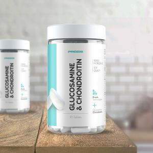 Glucozamina(citosamina) si Condroitina, Prozis Glucosamine & Chondroitin 30 tabs [3]