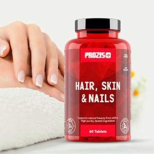 Complex pentru Piele, Unghii si Par, Hair, Skin & Nails - 60 cpr [2]