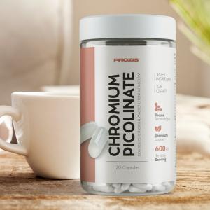 Picolinat de Crom, Chromium Picolinate 600 mcg - 120 cps [2]