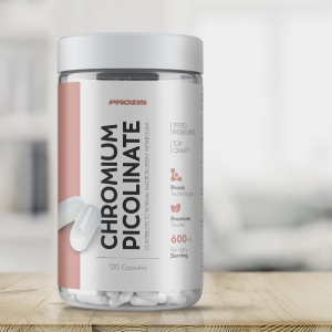Picolinat de Crom, Chromium Picolinate 600 mcg - 120 cps [4]