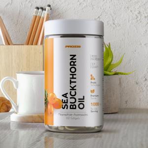 Ulei de Catina, Sea Buckthorn Oil 500 mg - 60 cps moi [3]