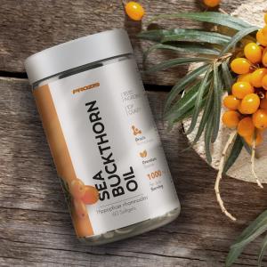 Ulei de Catina, Sea Buckthorn Oil 500 mg - 60 cps moi [2]