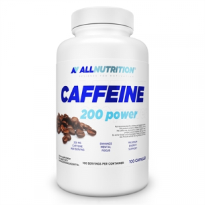 Supliment alimentar, Arzator de Grasimi, Caffeine 200 Power, Cafeina 200 mg - 100 capsule (100 doze)