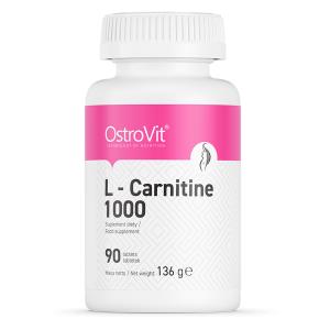 Arzator de Grasimi, L-Carnitina (1000 mg), OstroVit L-Carnitine 1000 - 90 comprimate (90 doze) [0]