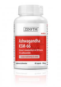 Supliment alimentar, Zenyth Ashwagandha KSM-66 (300 mg) - 60 capsule [0]