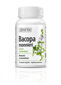 Supliment alimentar, Bacopa monnieri - 30 capsule [0]