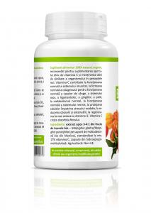 Supliment alimentar, Bio Acerola (400 mg) - 60 capsule [1]