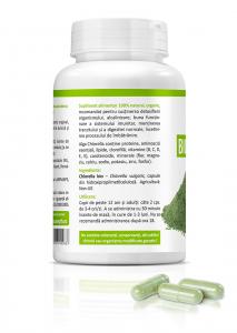 Supliment alimentar, Bio Chlorella (450 mg) - 60 capsule [1]