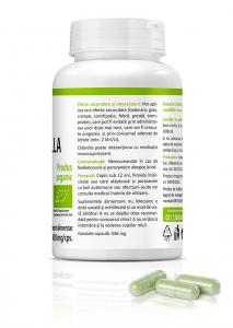 Supliment alimentar, Bio Chlorella (450 mg) - 60 capsule [3]