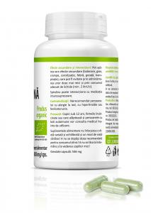 Supliment alimentar, Bio Spirulina (450 mg) - 60 capsule [3]
