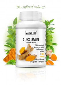 Supliment alimentar, Curcumin (550 mg) - 60 capsule [0]
