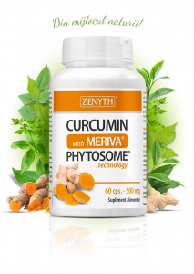 Supliment alimentar, Curcumin with Meriva® (500 mg) - 60 capsule [0]