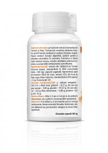 Supliment alimentar, Zenyth Curcumin & Piperine (500 mg) - 30 capsule [1]
