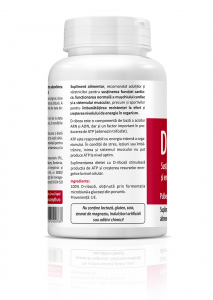Supliment alimentar, D-Ribose - 140 g (pulbere) [1]