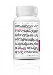 Echinacea cu Soc si Muscata Africana (700 mg) - 30 capsule [1]