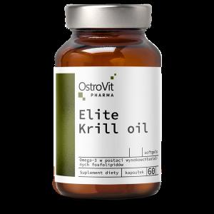 Supliment alimentar, OstroVit Pharma, Elite Krill Oil (1000 mg) - 60 capsule moi (30 doze) [0]