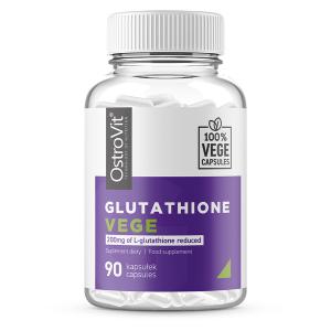 Supliment alimentar, L-Glutation Redus (200 mg), Ostrovit Glutathione Vege - 90 capsule (90 doze) [0]