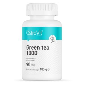 Extract de ceai verde (1000 mg din care Polifenoli - 400 mg), OstroVit Green Tea 1000 - 90 comprimate (90 doze) [0]