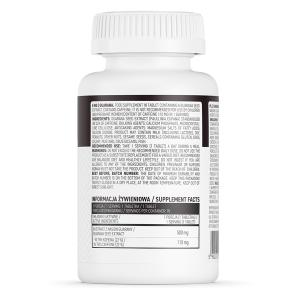 Supliment alimentar, OstroVit Guarana, 500mg (standardizat 110 mg cofeina) - 90 comprimate (90 doze) [1]