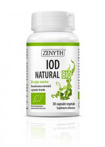 Supliment alimentar, Iod Natural Bio - 30 capsule vegetale [0]