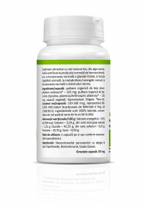 Supliment alimentar, Iod Natural Bio - 30 capsule vegetale [1]